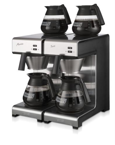 mondo twin filter coffee machine left