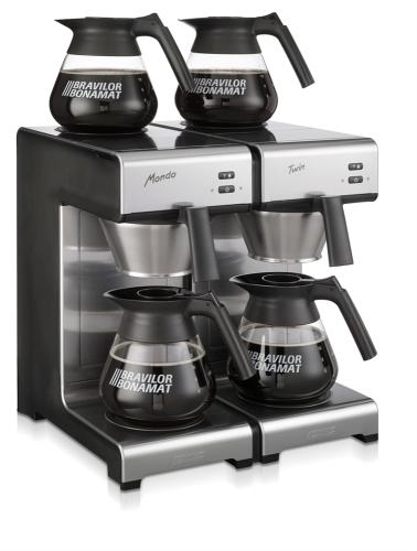 mondo twin filter coffee machine right